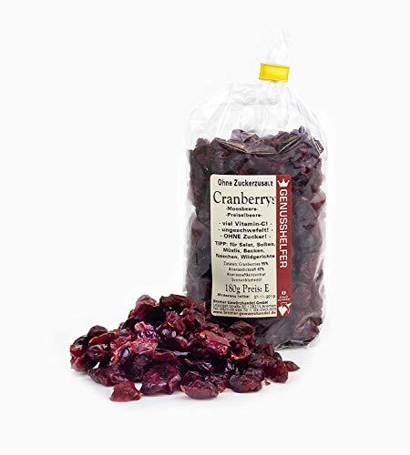 Bremer Gewürzhandel GmbH -  Cranberries ohne