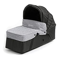 Easytwin carrycot inc Mattress with removable, washable cover Adjustable hood Carry handles Second carrycot for use with Easy Twin Stroller Compatible with the MyChild Easy Twin stroller only