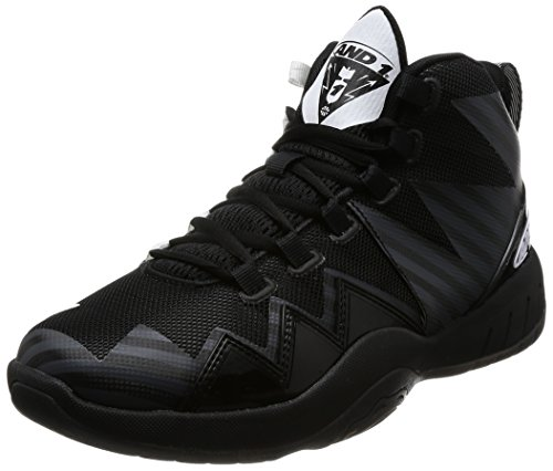 AND1 Mens Boom Basketball Casual Shoes, Black, 10