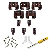 Kenlin Rite Trak I Replacement Drawer Guides with Metal Backing Plates (5 Sets)