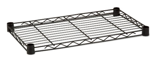 Honey-Can-Do SHF350B1436 Steel Wire Shelf for Urban Shelving Units, 350lbs Capacity, Black, 14Lx36W
