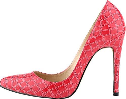 Salabobo Zapatos de tacón alto para mujer, sexy, con punta puntiaguda, para...