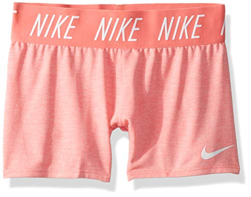 Nike G NK Dry Short Trophy 4in Garçon, Rose, chiné, Blanc (Pink Gaze/HTR/White), XS