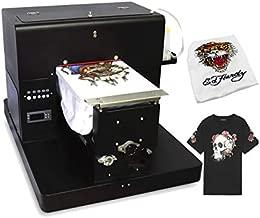 A4 DTG T-Shirts Printer Machine Multicolor DTG Printer Tshirts Machine for Both Dark & Light Clothes Printing