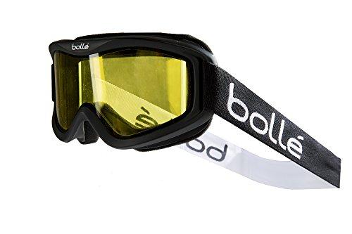 Bolle Mojo Snow Goggles (Matte Black, Lemon)