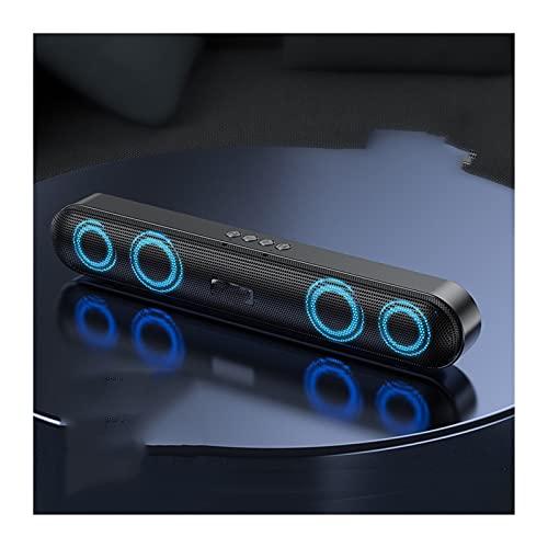 XINXI-YW Haut-parleurs Bluetooth Stéréo Sound Bar Bluetooth Computer Haut-parleurs Ordinateur Portable PC Barre de Son de Subwoofer étanche de Haut-Parleur (Color : Upgrade Speakers)