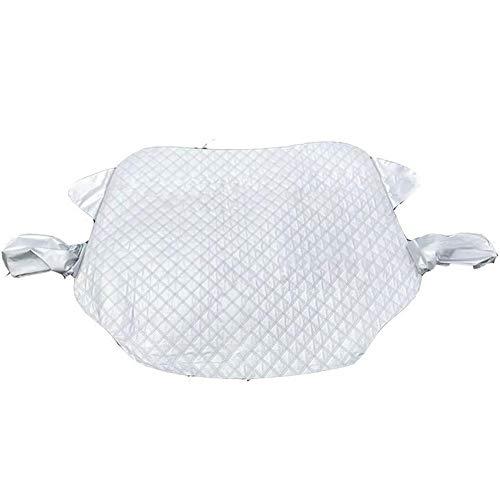 ZDXNNX Cubierta de Nieve del Parabrisas del Coche, Impermeable a Prueba de Polvo a Prueba de Polvo con Parabrisas Anti-congelación Cubierta de Nieve Invierno Espesado Anti-Escarcha Cubierta