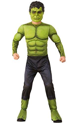 Rubies War Disfraz infantil de Hulk de Guerra, Multicolor, small (700363S)