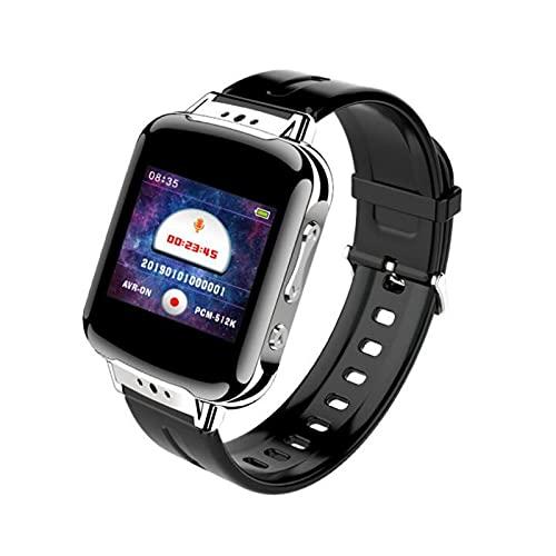 Armband Digitales Diktiergerät 192 Stunden Aufnahmegerät Wristband MP3 Smart Armband 16GB Speicher , Voice Recorder Bracelet Für Vorträge, Meetings, Interviews (Size : 8GB)