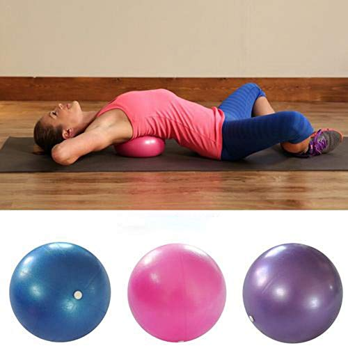 Dubleir Mini Pilates Ball Verdickt Explosionsgeschützter Fitness Yoga Ball Weicher PVC Stabilitätsball Für Yoga, Gymnastik, Rücken, Aerobic, Bauchmuskeltraining Usw. (25 cm)