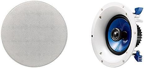 YAMAHA NSIC600WH 2-Way 110-Watts RMSSpeaker -- White