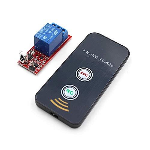 CLJ-LJ IR 1 canal receptor infrarrojo interruptor de conducción relé controlador módulo tablero 12 V + controlador remoto activo