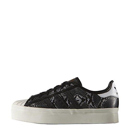 adidas Donna Superstar W Scarpe da Ginnastica Nero Size: 40 2/3 EU