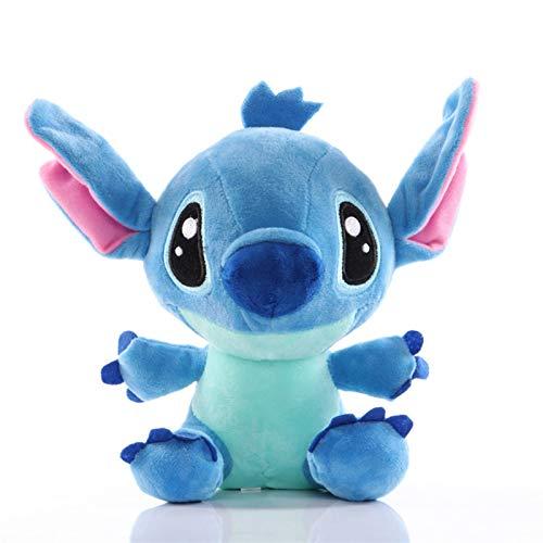Liandan Juguetes de peluche rellenos de la muñeca Animales Estatuilla Juguetes - animación de Disney puntada de juguete de felpa de la puntada Lilo & Stitch muñeca colgante muñeca de 8 pulgadas regalo