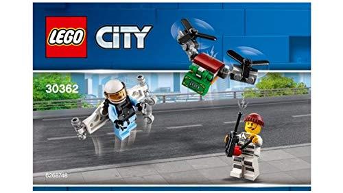LEGO-769388532885 City Conocido 30362 Sky Police Jetpack - Bolsa de plástico, Multicolor