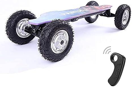 Xiaokang Scooter eléctrico para Adultos Velocidad Fuera de Carretera Drift de Alta Velocidad 9.4 '' Scooter de Control Remoto neumático neumático, 46.5 '' * 17.7 '' * 9.4 ''
