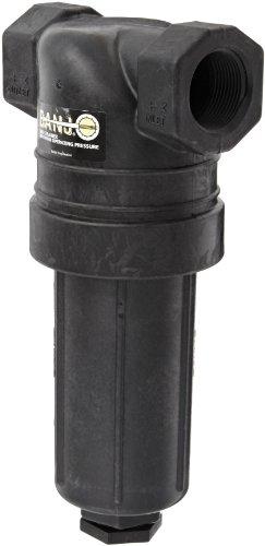 Banjo LST125-80 Polypropylene T-Strainer, 80 Mesh, 1-1/4' NPT Female