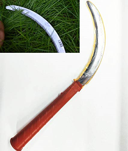 Read About YALEEE Small Tooth Sickle Alloy Steel Agriculture Sickle Grass Cutting Garden Tool Portab...