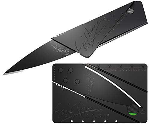 CARDSHARP 2 - Iain Sinclair - schwarz/Schwarze Klinge - neuestes Modell