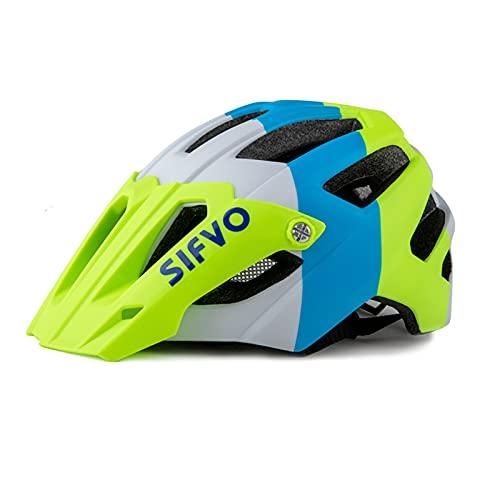 Zeroall Casco de Bicicleta Adulto 56-61cm Tamaño Ajustable Casco de Ciclo con...