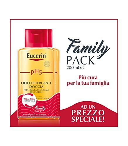 Eucerin pH5 - Olio Detergente Doccia, 2 x 200ml