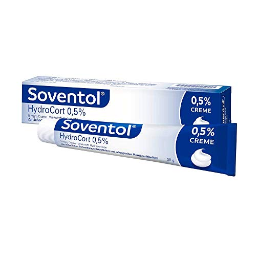 Soventol 0,5% HydroCort Creme, 30 g Creme