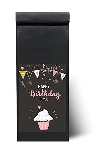 "Tee zum Geburtstag - Geburtstagsgeschenk Tee - ""Happy Birthday to you"" - 200 g - Teegeschenk - ""Alles gute zum Geburtstag Tee"" als Geschenk von Quertee®"