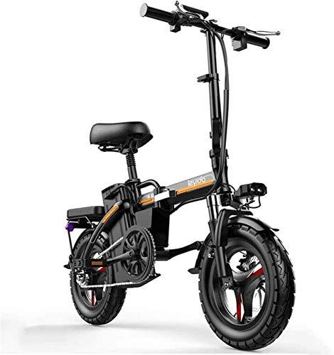 RDJM Bici electrica Bicicletas eléctricas rápida for adultos 48V batería de litio...