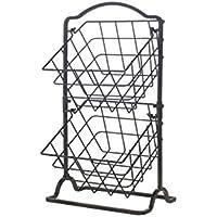 Gourmet Basics by Mikasa General Store 2 Tier Hanging Basket