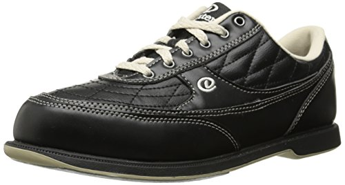 Dexter Turbo II Wide Width Bowling Shoes, Black/Khaki, 10.5