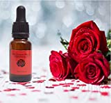 Rose Oil for Face – Luxurious Facial Oil Infused with Damask Rose – Hydrating Rosa Damascena to Reduce Fine Lines and Wrinkles – Natural Organic Rose Oil for Face – Rose Oil for Skin - Rose Oil
