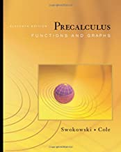 Precalculus: Functions and Graphs (with CengageNOW Printed Access Card) (Available 2010 Titles Enhanced Web Assign)
