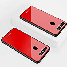 Custodia® Hard Shell Case for OPPO R15 Pro (Red)