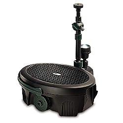 top 10 uv pond filter Pennington Aqua Garden, 5 in 1 pond and water pump, filter, UV clarifier, LED spotlight, …