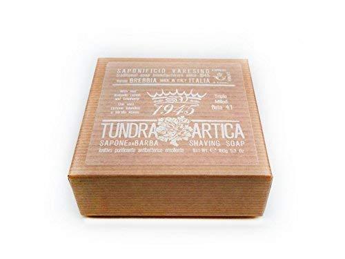 Saponificio Varesino Tundra Artica Deluxe Duro Jabón Afeitado 150g Puck