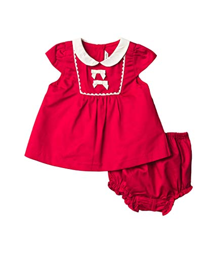 Janie and Jack Baby Girl's Corduroy Set (Infant) Red 12-18 Months