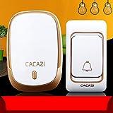 Wireless Doorbell Waterproof Remote Intelligent Door Bell for The Older Home use Gift