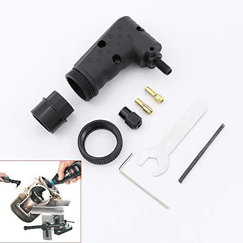 Convertidor de ángulo recto para accesorios de herramientas Dremel, herramientas rotativas compatibles con el kit de amoladora eléctrica original 4000 3000 8200 275