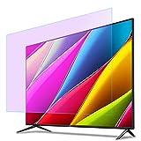 Luz Azul Anti Televisor Pantalla Protector por 32-65 Pulgadas TELEVISOR, Filtrar Anti reflejante Anti-rasguños televisor Pantalla Protector, por HDTV LCD/LED/OLED y QLED 4K,49°(1075 * 604)