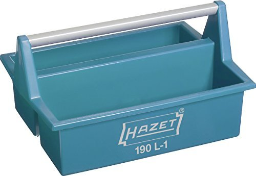 HAZET 190L-1 215 x 396 x 294 mm Plastic Tote Tray - Multi-Colour by Hazet