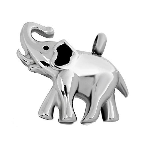 gazechimp Elefante De Aço Inoxidável Memorial Pet Ash Cremação