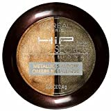 Quality Make Up Product By L'Oreal HiP Studio Secrets Professional Metallic Shadow Duo, 310 Shocked, 0.08 oz (2.4 g), 1 Pack