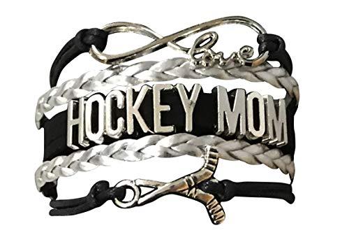 Infinity Collection Hockey-Mom-Charm-Armband mit Eishockey-Mom-Schmuck, für Mütter mit Hockeyspielern