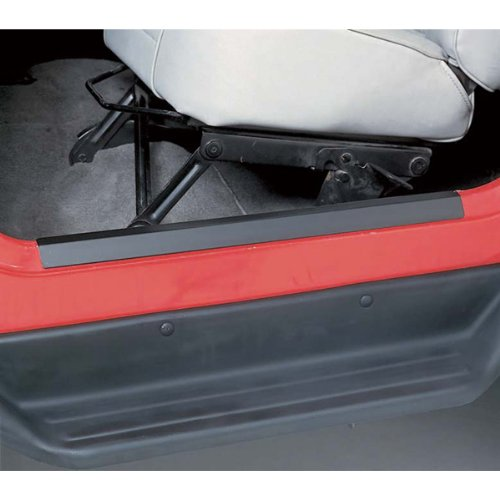 Rugged Ridge 11216.01 Black Entry Guard Kit, 2 Pair, 97-06 Jeep Wrangler TJ & 04-06 Jeep Wrangler LJ Unlimited
