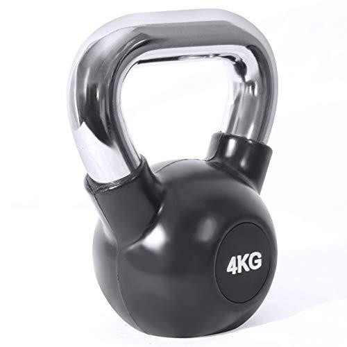 Kettlebell in Ghisa Portatile 4-32 kg Adatto per Palestra Atletica Fitness Sollevamento Pesi Allenamento Bodybuilding Muscolare Perdita di Peso,12kg
