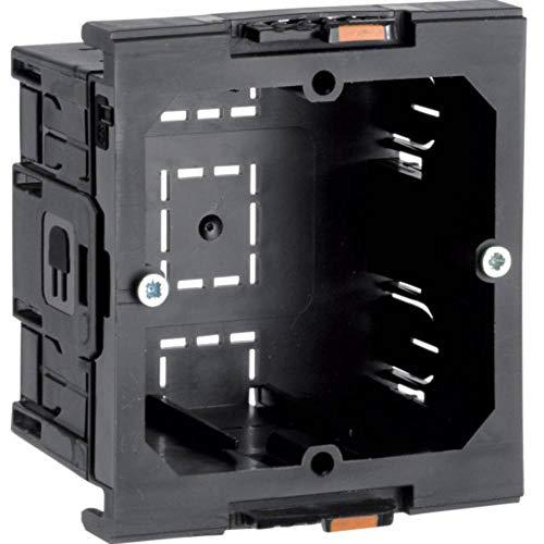Hager G2850 kallysto – Box für Mechanismus Universal einfach 64 x 71 x 42 mm, Schwarz