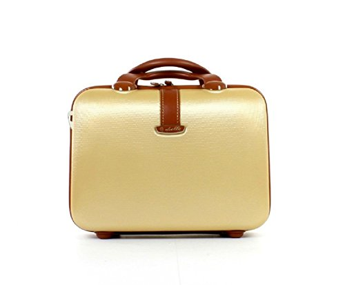 Beauty Case Kosmetikkoffer Dielle 255 Köfferchen (32x23x14) (beige)
