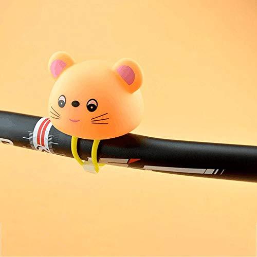 SKYUXUAN Accesorios de Goma de la Campana de Bicicleta Brillante para los manillares de la Bicicleta 7 cm * 5 cm 1 Pieza de Forma-LY