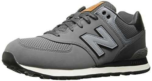 New Balance, Herren Sneaker, Grau (Grey), 41.5 EU (7.5 UK)