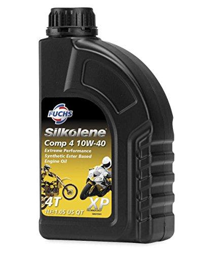 Fuchs Silkolene Comp 4 SAE - Aceite de motor (tamaño 10 W40)